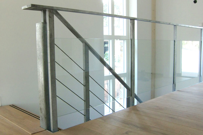 Villa interieur trap kasten - Interieur trap ...